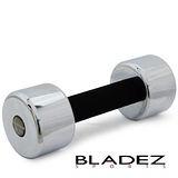 【BLADEZ】5KG電鍍泡棉啞鈴 -1支