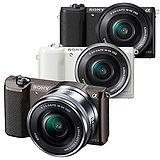 SONY a5100L 16-50mm 數位單眼 變焦鏡組(公司貨)-3/21-4/30買就送NP-FW50原廠電池再送32GB、讀卡機、清潔組、專用座充
