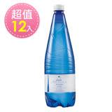 【義大利進口】亞莉佳氣泡礦泉水(1000ml*12)