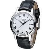 Tissot Carson 天梭 羅馬紳士石英錶 T0854101601300