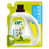OP天然茶酚洗衣精補充包1500g