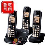 Panasonic 2.4GHz數位無線電話 KX-TG3712+TGA371*1 / KX TG3713 (尊爵黑)