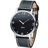 STAR 時代 時光閣樓時尚腕錶 9T1407-431S-D