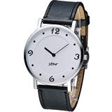 STAR 時代 時光閣樓時尚腕錶 9T1407-431S-W
