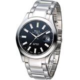 BALL Watch 工程師 Marvelight 大三針自動機械腕錶 NM2026C-S6J-BK