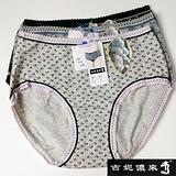 【吉妮儂來】舒適荷葉邊花點中低腰棉褲~6件組(隨機取色)