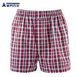 豪門色織平口褲 (M~XL)