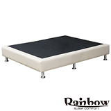 經典皮配布床座(皮革5色選擇)-單人3.5尺