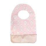 【美國JuJuBe媽咪包】BeNeat 雙面防潑水嬰兒圍兜-Blush Frosting 粉色圖騰