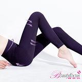 【BeautyFocus】輕機按摩感保暖睡眠九分褲-5364深紫色