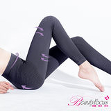 【BeautyFocus】輕機按摩感保暖睡眠九分褲-5364紫灰色