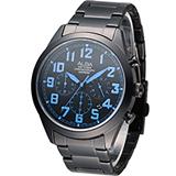ALBA 雅柏 玩樂撞色計時腕錶 VD53-X170B AT3593X1