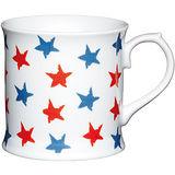 《KitchenCraft》啤酒型馬克杯(紅藍星)