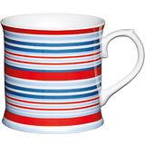 《KitchenCraft》啤酒型馬克杯(紅藍紋)