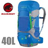 【瑞士 MAMMUT 長毛象】Heron Crest 40+10L 專業透氣舒適登山背包 2510-02910 藍灰