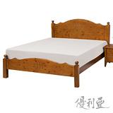【優利亞-和風】加大6尺實木床架
