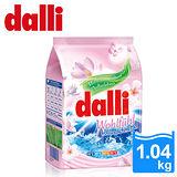 【德國Dalli】好感覺全效濃縮洗衣粉1.04kg-花香(4入/箱)