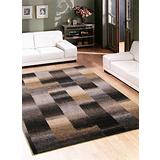 【范登伯格】巴菲特極簡抽象漸層色塊比利時進口地毯-100x150cm