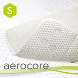 【MICRODRY時尚地墊】aerocore 3D舒適浴缸墊-珍珠白/S