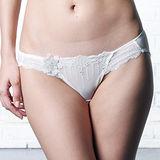 【LADY】阿蒂蜜絲系列 低腰三角褲(光感白)