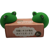 桌角的寵物幼兒安全守護動物造型防撞桌角(綠蛙款)