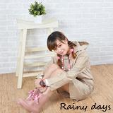 Rainy days米蘭風尚ALine修身款風雨衣/風衣/雨衣 (101卡其)