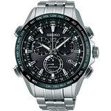 SEIKO ASTRON GPS 衛星校時太陽能【鈦】計時腕錶(黑/45mm) 8X82-0AB0D(SSE003J1)