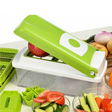 PUSH!廚房用品 10大功能切菜器 沙拉機 生菜蔬果料理機