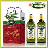 Olitalia 奧利塔純橄欖油禮盒組 1000ml*2罐