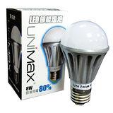 美克斯UNIMAX LED省電燈泡-黃光(8W)
