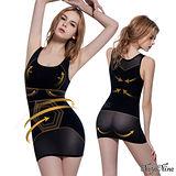 【Naya Nina】六角力學․強效雕塑長版寬肩塑身衣M-XXL(黑)