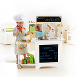 德國Hape愛傑卡-移動式點餐廚具台