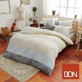 《DON 索思》加大四件式蜜絲絨全舖棉兩用被床包組