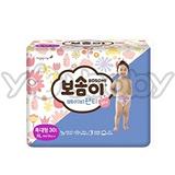 韓國寶舒美 BOSOMI 頂級褲型紙尿褲 女生XL30片x4包 (箱購)