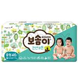 韓國寶舒美 BOSOMI 嬰兒紙尿褲 M46片x4包 (箱購)