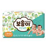 韓國寶舒美 BOSOMI 嬰兒紙尿褲S 54片x4包 (箱購)