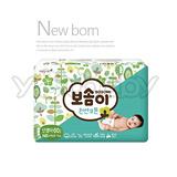 韓國寶舒美 BOSOMI 嬰兒紙尿褲NB60片x4包 (箱購)