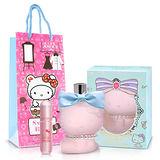 Hello kitty Coco Amour 粉紅菲菲女性淡香精(70ml)-送Kitty限定聯名款香水攜帶瓶&紙袋