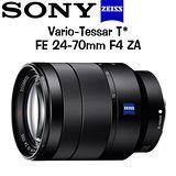 SONY 卡爾蔡司 Vario-Tessar T* FE 24-70mm F4 ZA (平輸) -送UV保護鏡+強力吹球+拭鏡筆+拭鏡布+清潔液+拭鏡紙