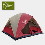【Outdoorbase】楓紅270雙房隔間帳篷 21195