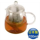 【日本 HARIO】耐熱泡茶玻璃壺 附濾網 700ml (CHEN-70T)