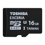 TOSHIBA EXCERIA 16GB microSDXC UHS-3 記憶卡 - 加送手機套