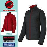 【瑞士 MAMMUT 長毛象】女新款 Blackfin Jacket 雙面穿鵝絨外套/Whitehorn羽絨外套 石墨灰/紅 1010-15540