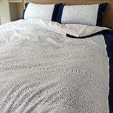 LITA麗塔 (大溪地)純棉 雙人四件式薄被套床包組