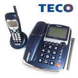 TECO【東元】來電顯示無線親子電話(XYFXC01T)深藍