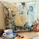 TROMSO-品味英倫棉麻抱枕/自由之愛