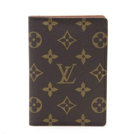 Louis Vuitton LV M60181 Monogram帆布護照夾_預購