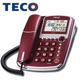 TECO【東元】顯示語音報號有線電話XYFXC003紅