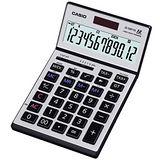【CASIO 卡西歐】JS-120TVS-SR 12位數 桌上型可摺式面板計算機