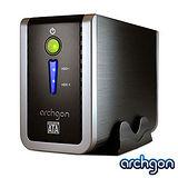 archgon 2.5/3.5吋 USB3.0 2bay磁碟陣列外接盒 MH-3622RD-U3P